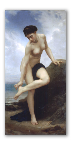 """Cuadro """"Después del baño"""" (1875)"""