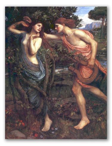 Apolo y Dafne