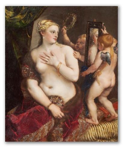 """Obra """"Venus del espejo"""""""