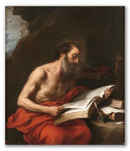 "Cuadro ""San Jerónimo leyendo"""