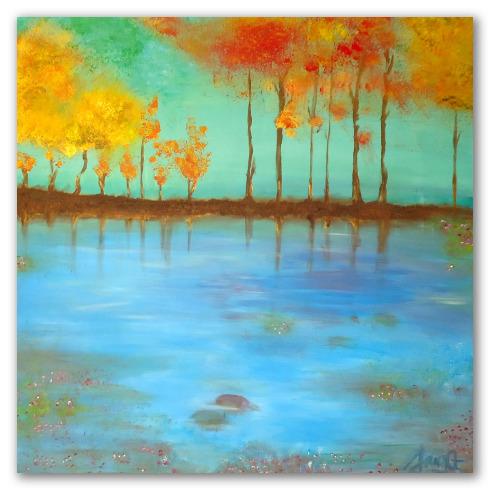 """""""El lago azul"""" de A. Croxatto"""