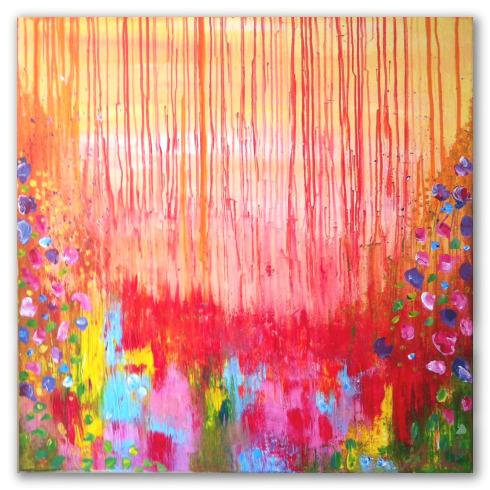 "Obra ""Garden Colour"" - Ángeles Croxatto"