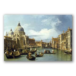 La Entrada al Gran Canal de Venecia - Canaletto