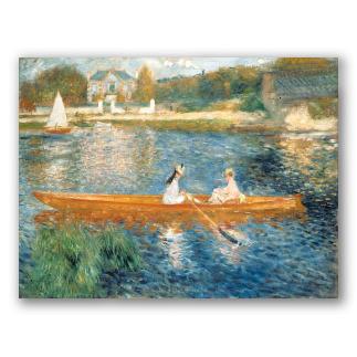 El Sena en Asnieres - Renoir